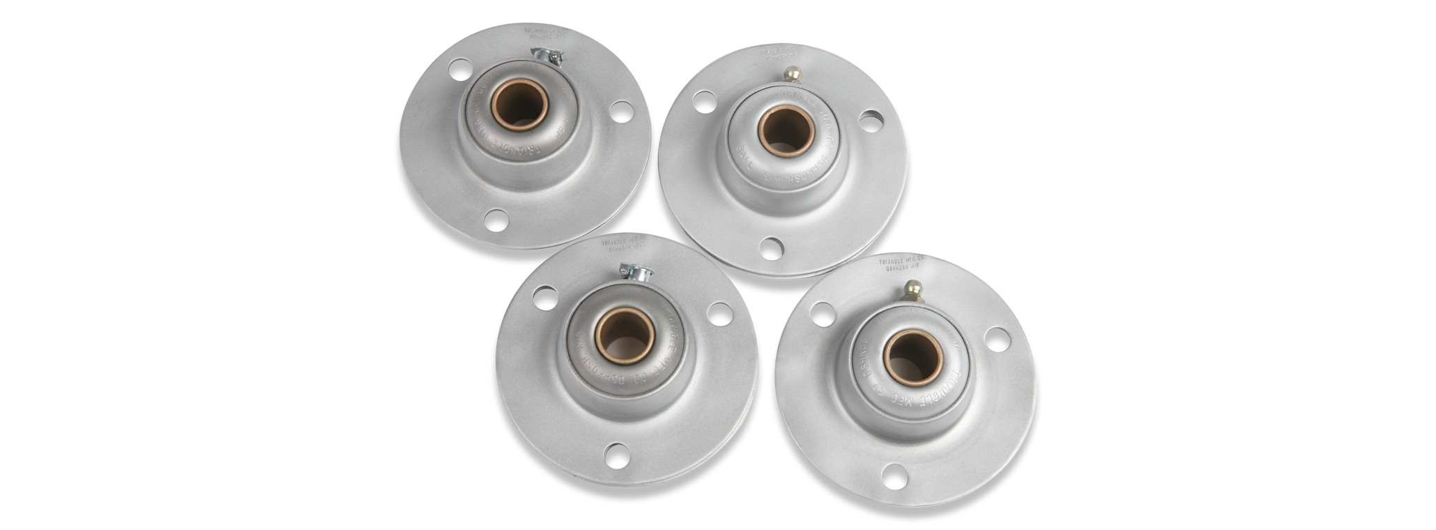 Triangle 3 Bolt Flange Bearing Types