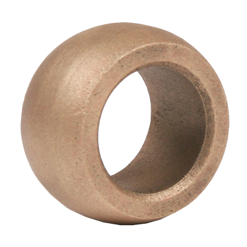 Sintered Bronze Spherical Bearing, Unmounted  - 12mm, part number 14M12, 14 Series, primary image
