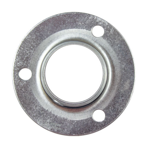 Steel 2 Bolt Flange Bearing Mount, 14 Gauge