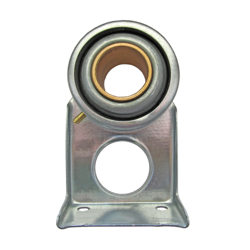 "Sintered Bronze with Stamped Steel Ball 3 Bolt Hanger Bearing, 16 Gauge  - 1  1/4 "", part number 3953, H39 Series, primary image"