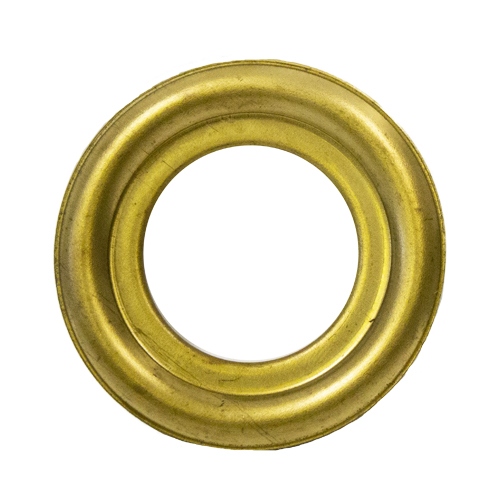 "Brass Round Lazy Susan Turntable Bearing, 22 Gauge  - 2"", part number 3C6285, 3LS Series, primary image"