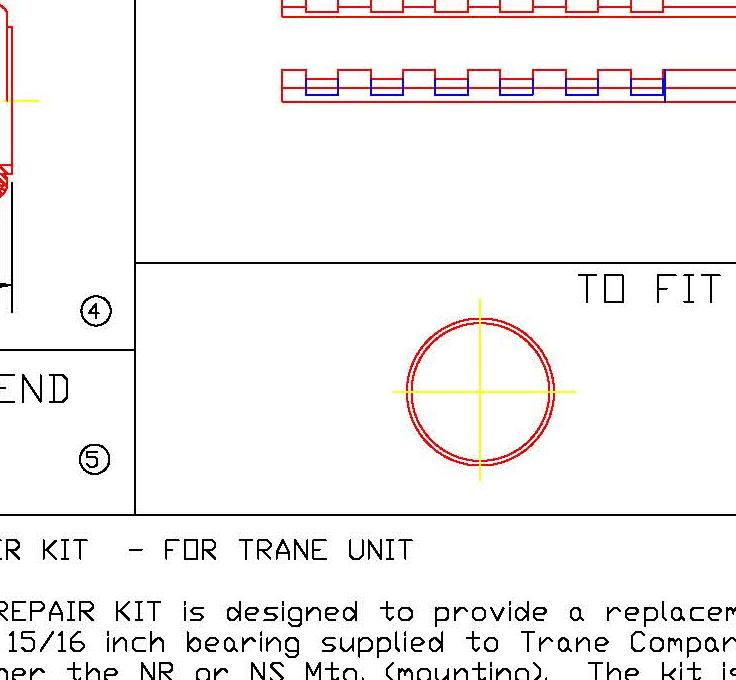 HVAC Repair Kit 4715