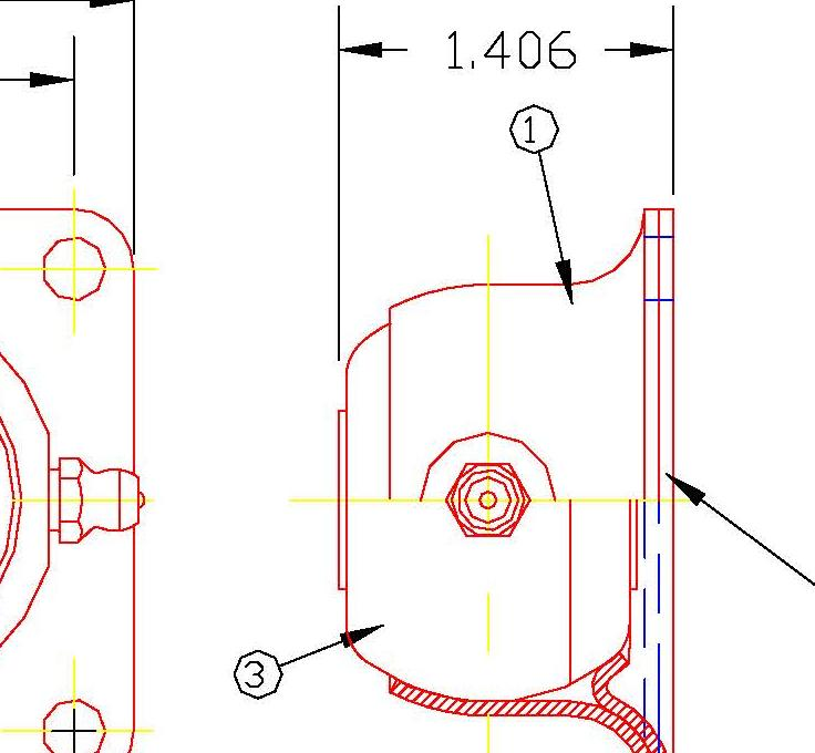 Flange Bearing FDH10G