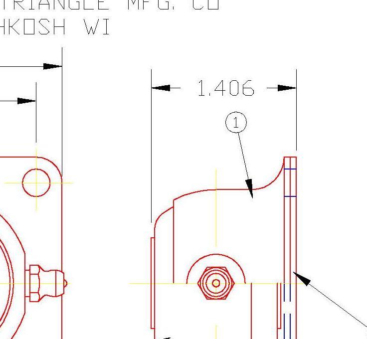 Flange Bearing FDH12G
