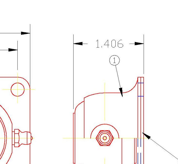 Flange Bearing FDH14G
