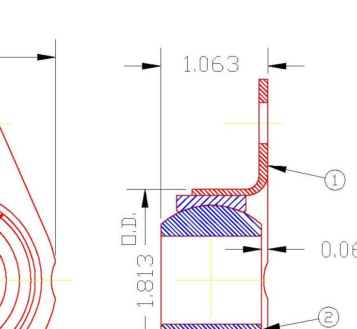 Flange Bearing FG4214P