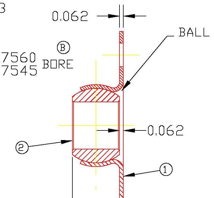 Flange Bearing FL9455
