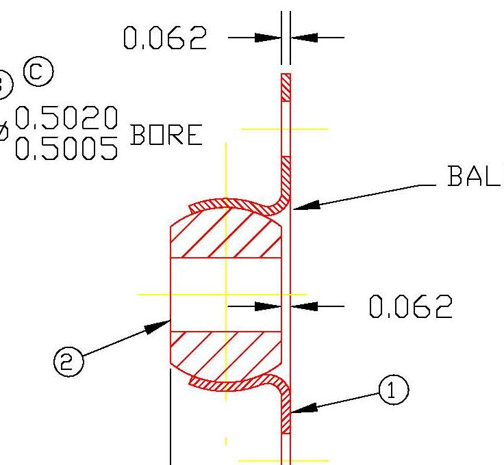 Flange Bearing FLW8