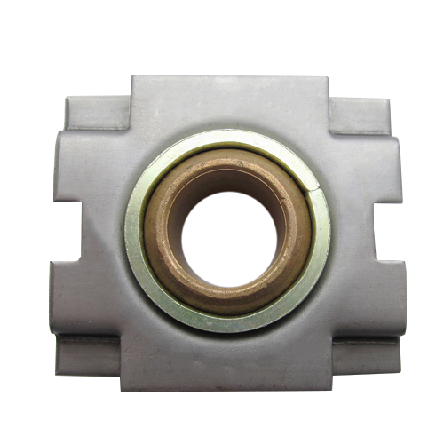 Sintered Bronze Bearing Ball Take-Up Bearing with Ring, 13 Gauge - 1""