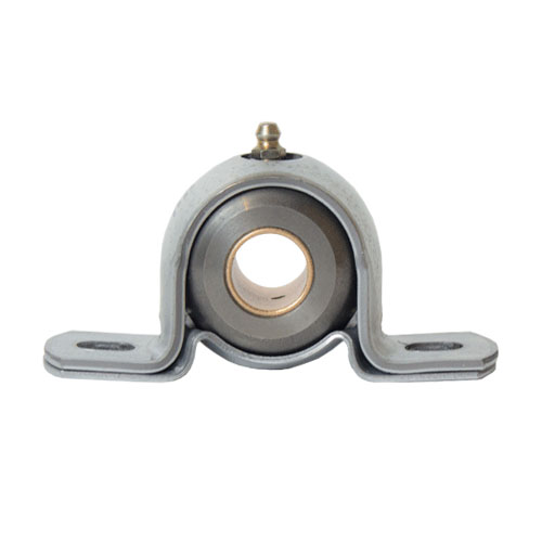 "Cast - Machined Iron 2 Bolt Pillow Block Bearing, 11 Gauge  - 1  1/8 "", part number BJT16G, BJ Series, primary image"