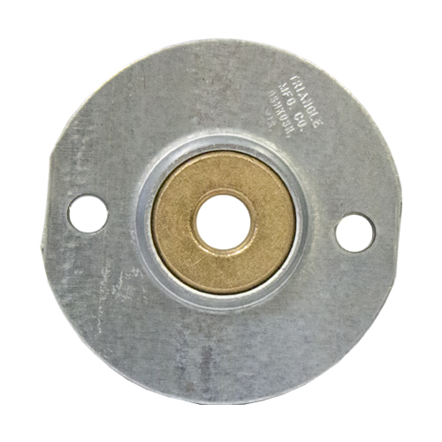 Sintered Bronze Bearing Ball 2 Bolt Flange Bearing, 16 Gauge -  3/8""