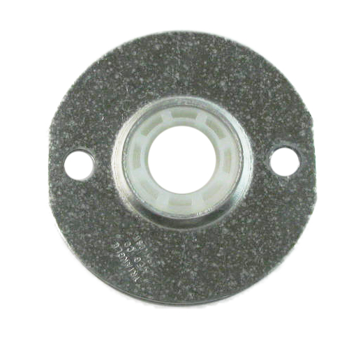 "Molded Nylon 2 Bolt Flange Bearing, 16 Gauge  -   5/8 "", part number CKN10, CK Series, primary image"