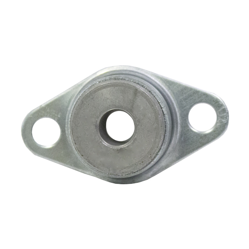 "Sintered Iron 2 Bolt Flange Bearing, 14 Gauge  -   1/2 "", part number FJ7948, FJ Series, primary image"