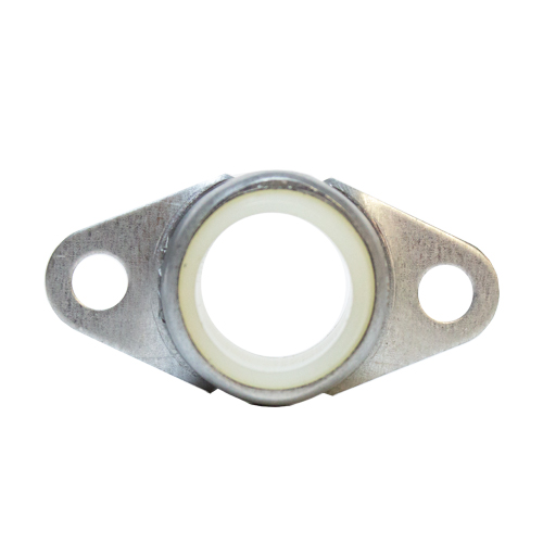 Molded Nylon Bearing Ball 2 Bolt Flange Bearing, 16 Gauge -  3/4""