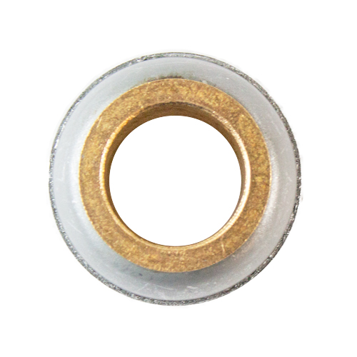 Stamped Steel Bearing Ball Sintered Bronze Bushing Spherical Bearing, Unmounted -  7/8""