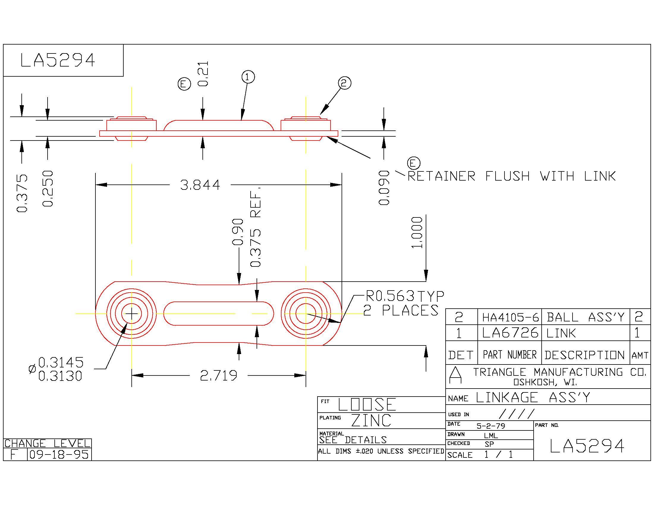 Linkage Assembly LA5294